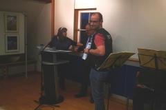 Vernissage im Rathaus Ofterdingen und Übergabe der Urkunden und der Medaille6972155_2635217029871447_2485400104207384576_n