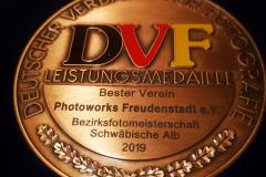 Vernissage im Rathaus Ofterdingen und Übergabe der Urkunden und der Medaille