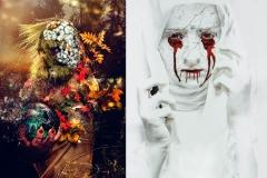 Waldgeist / The White Nun ( Photoshop )